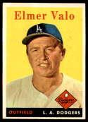 1958 Topps #323 Elmer Valo EX Excellent