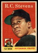 1958 Topps #470 R.C. Stevens VG/EX Very Good/Excellent RC Rookie