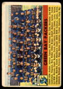 1956 Topps #7 Packers Team marked
