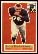 1956 Topps #8 Lou Creekmur EX Excellent
