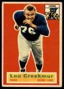 1956 Topps #8 Lou Creekmur VG/EX Very Good/Excellent