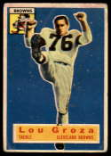 1956 Topps #9 Lou Groza G Good