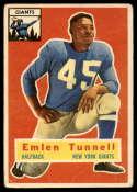 1956 Topps #17 Emlen Tunnell VG Very Good