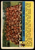 1956 Topps #26 49ers Team marked