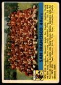 1956 Topps #26 49ers Team VG Very Good