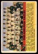 1956 Topps #40 Eagles Team VG Very Good