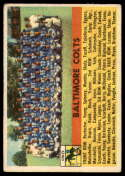 1956 Topps #48 Colts Team VG/EX Very Good/Excellent