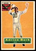 1956 Topps #52 Adrian Burk EX/NM
