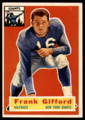 1956 Topps #53 Frank Gifford VG/EX Very Good/Excellent