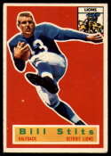 1956 Topps #56 Bill Stits VG Very Good