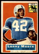 1956 Topps #60 Lenny Moore VG/EX Very Good/Excellent RC Rookie