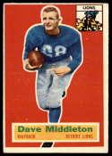 1956 Topps #68 Dave Middleton EX Excellent