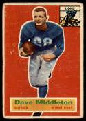 1956 Topps #68 Dave Middleton G/VG Good/Very Good