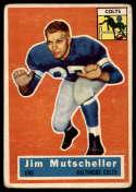 1956 Topps #72 Jim Mutscheller VG Very Good