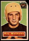 1956 Topps #75 Ray Mathews P Poor