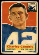 1956 Topps #77 Charley Conerly G/VG Good/Very Good