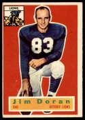 1956 Topps #80 Jim Doran EX Excellent