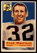 1956 Topps #81 Fred Morrison VG/EX Very Good/Excellent