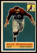 1956 Topps #82 Jack Simmons VG/EX Very Good/Excellent SP