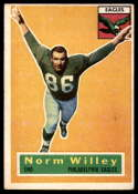 1956 Topps #88 Norm Willey EX Excellent