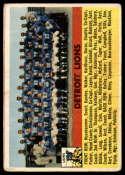 1956 Topps #92 Lions Team VG Very Good