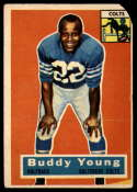 1956 Topps #96 Buddy Young P Poor