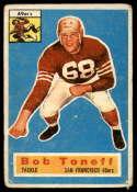 1956 Topps #98 Bob Toneff G/VG Good/Very Good