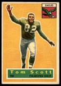 1956 Topps #112 Tom Scott EX Excellent