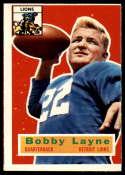 1956 Topps #116 Bobby Layne NRMT o/c