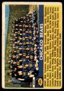1956 Topps #119 Bears Team VG Very Good