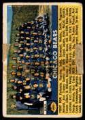 1956 Topps #119 Bears Team taped