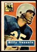 1956 Topps #120 Billy Vessels VG Very Good RC Rookie