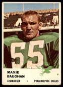 1961 Fleer #56 Maxie Baughan VG/EX Very Good/Excellent RC Rookie