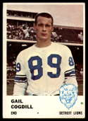 1961 Fleer #83 Gail Cogdill VG/EX Very Good/Excellent RC Rookie