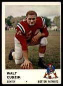 1961 Fleer #182 Walt Cudzik EX Excellent