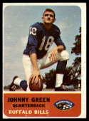 1962 Fleer #13 Chuck Green VG Very Good