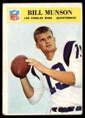 1966 Philadelphia #101 Bill Munson G/VG Good/Very Good