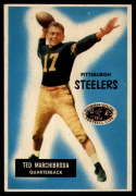 1955 Bowman #106 Ted Marchibroda VG/EX Very Good/Excellent