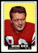 1964 Topps #7 Bob Dee VG/EX Very Good/Excellent SP