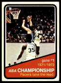 1972-73 Topps #241 ABA Playoffs Game 1 EX/NM