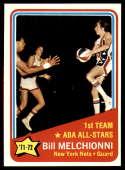 1972-73 Topps #253 Bill Melchionni AS NM+