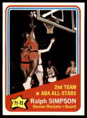 1972-73 Topps #257 Ralph Simpson AS NM-MT