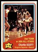 1972-73 Topps #258 Charlie Scott AS NM-MT