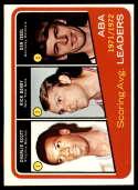 1972-73 Topps #259 Rick Barry/Dan Issel ABA League Leaders NM Near Mint