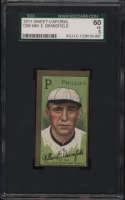 1911 T205 Gold Border #22 William Bransfield SGC 60 5