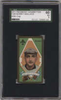 1911 T205 Gold Border #196 Bobby Wallace SGC 60 5