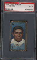 1911 T205 Gold Border #136 Chief Meyers PSA 3 Cycle