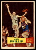 1957 Topps #75 Andy Phillip VG/EX Very Good/Excellent