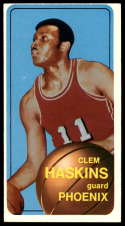 1970-71 Topps #165 Clem Haskins EX Excellent RC Rookie