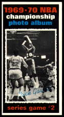 1970-71 Topps #169 1969-70 NBA Championship Game 2 VG/EX Very Good/Excellent